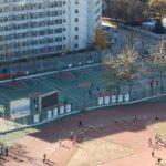 BIT sport fields in Zhongguancun Campus 2