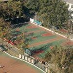 BIT sport fields in Zhongguancun Campus 3
