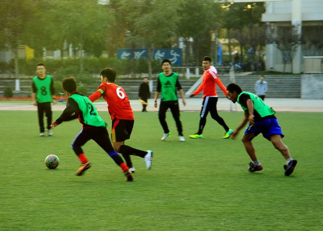 Beijing Institute of Technology Football match