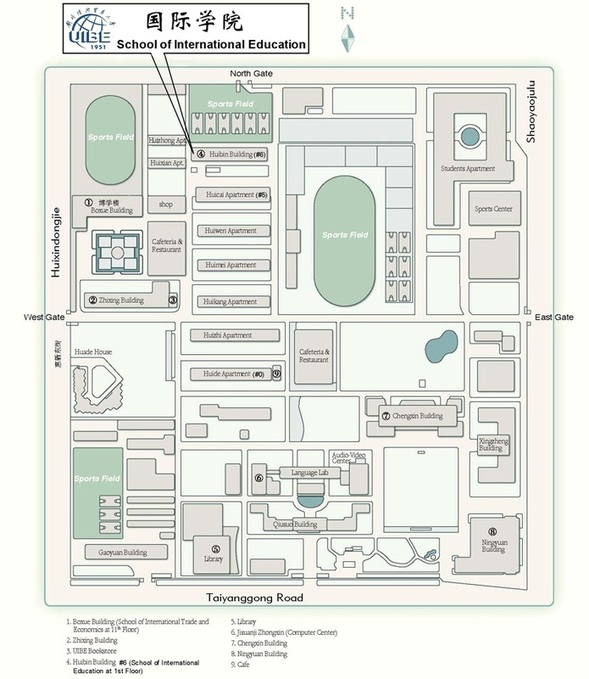 University of International Business and Economics Map
