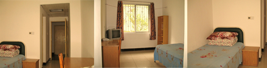 Wuhan University Accommodation single
