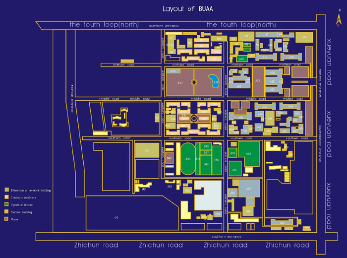 beihang university campus map (1)