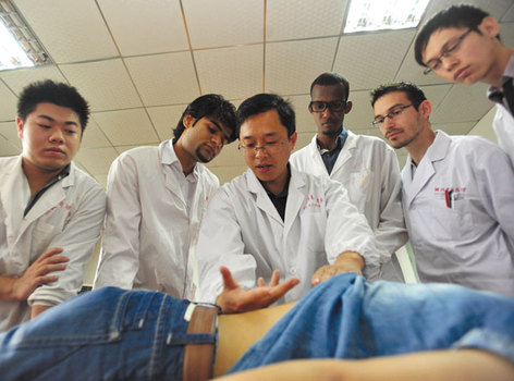 a study on acupuncture as an effective chinese medical practice Ancient chinese medicine is gradually gaining in study: acupuncture does combat pain though the practice of acupuncture predates current understanding.