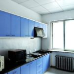 dufe accommodation dorm kitchen PR