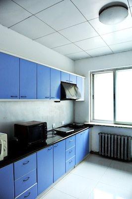 dufe accommodation dorm kitchen PR