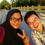 Nashaa and her Chinese friend - ECNU