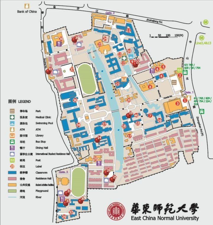 ecnu map 1