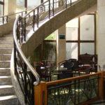 SHNU Guo Jiao accommodation stairs