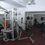 SHNU Indoor Bodybuilding Room