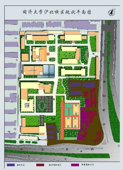 Tongji HuBei Campus Map