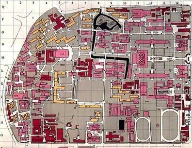 Tongji Sipingroad Campus Map