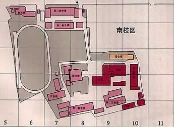 Tongji South Campus Map