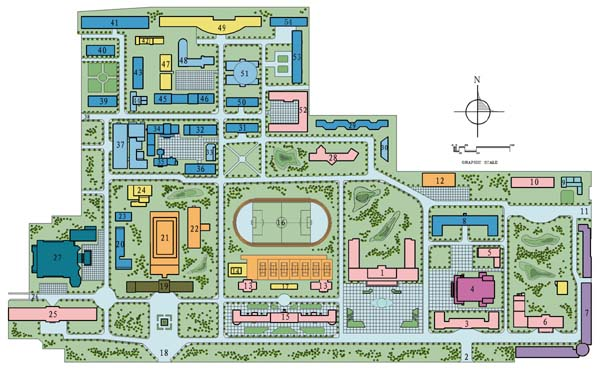 Liaoning University Campus Map