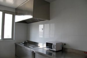 blcc accommodation kitchen
