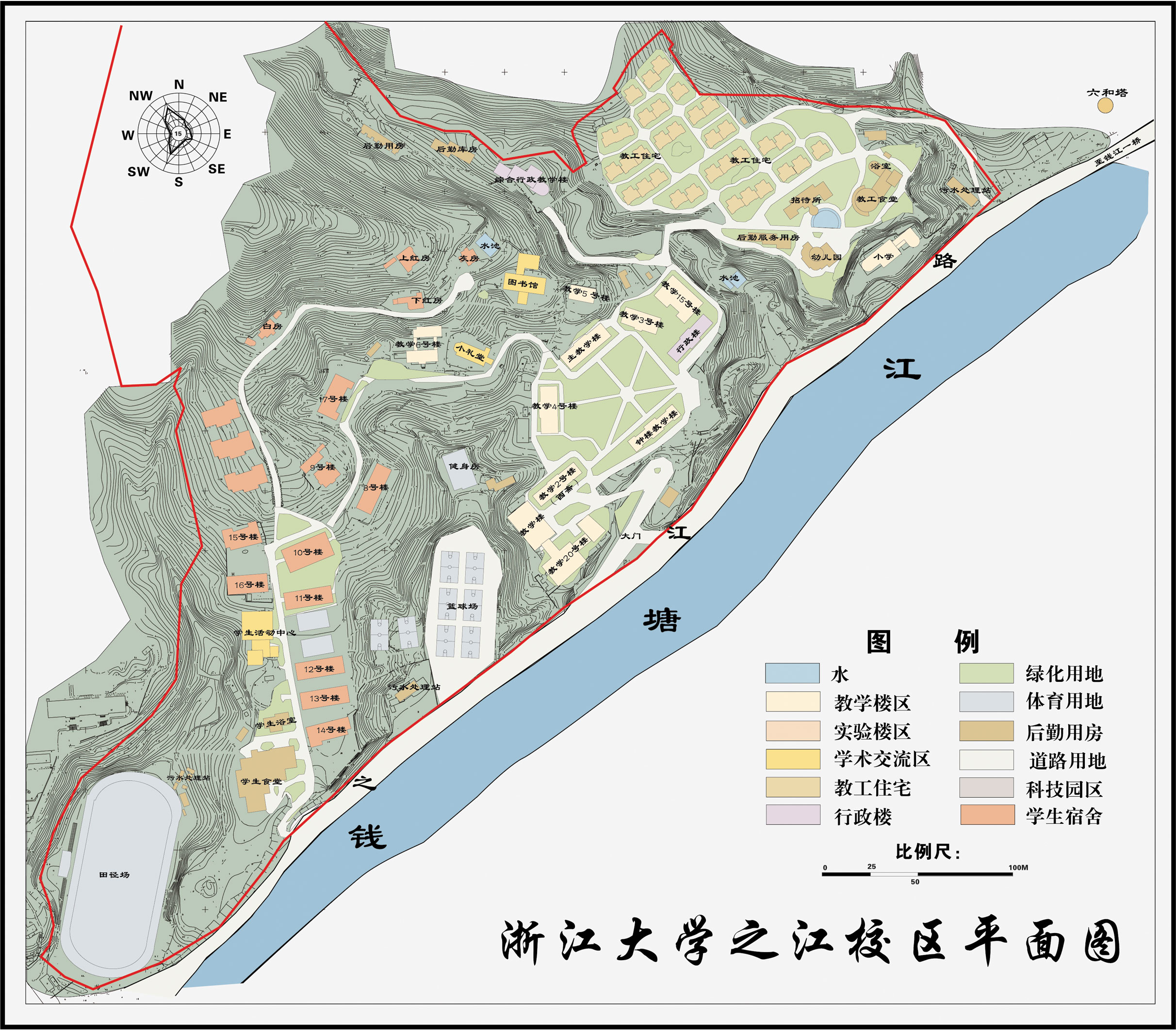 Zhijiang Campus Map