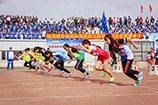 SAU sports sprint race
