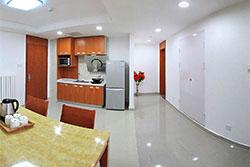 Xi'an Jiaotong-Liverpool University (XJTLU) accommodation dining area