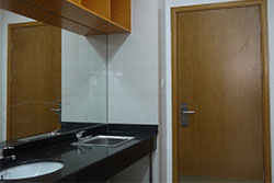 Xi'an Jiaotong-Liverpool University (XJTLU) accommodation wash basins