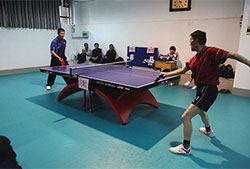 xuzhou medical university - table tennis