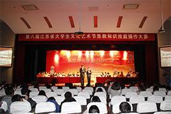Eighth College Cultural and Art Festival of Jiangsu Province - NMU