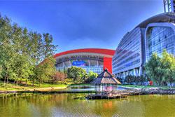 Sports Complex in Nanjing