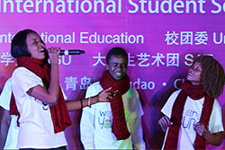 China University of Petroleum (UPC) - International Students Singing