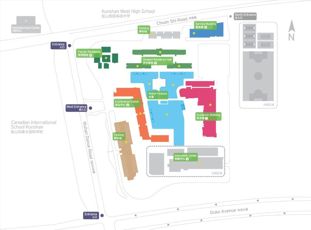 Duke Kunshan Campus Map
