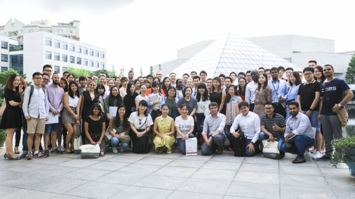 Participants in the CEIBS Pre-MBA Summer Boot Camp Program