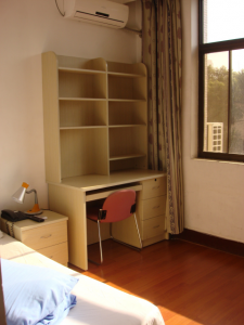 Bedroom at International Student Apartment Building 1