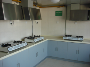 Shared Kitchen at Building 3 Accommodation