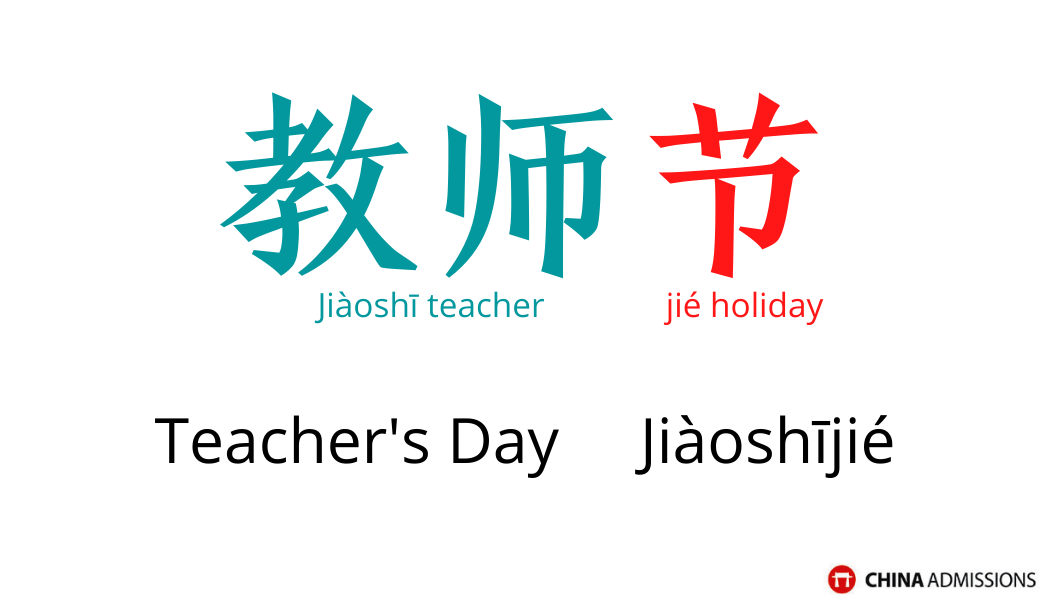 Teacher's Day 2021 Chinese vocabulary and phrase